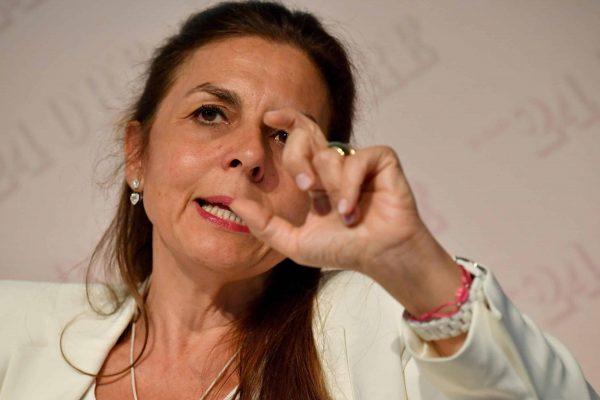 La vice presidente di Confindustria, Licia Mattioli, in occasione del 10/mo Luxury Summit, MIlano, 20 giugno 2018. ANSA/DANIEL DAL ZENNARO