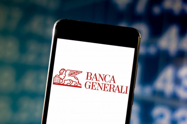 June 10, 2019 - Brazil - In this photo illustration a Banca Generali logo is displayed on a smartphone. (Credit Image: © Rafael Henrique/SOPA Images via ZUMA Wire)