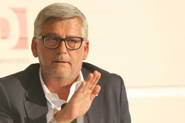 Francesco Pugliese. Amministratore delegato di Conad Italia alla festa nazionale dell'Unita' ,Bologna 28 agosto 2014. ANSA/GIORGIO BENVENUTI