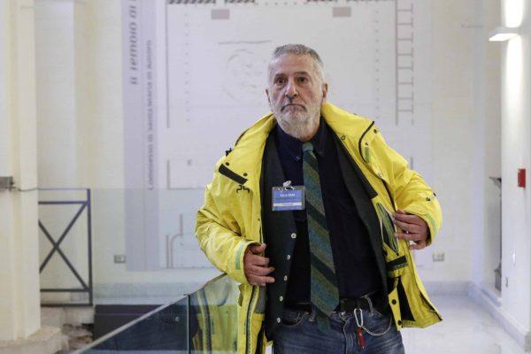 Marco Ponti durante la presentazione del libro ''Trasporti: Conoscere per deliberare'', Roma 15 gennaio 2019. ANSA/GIUSEPPE LAMI