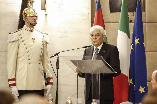 Il presidente della Repubblica Sergio Mattarella in una foto d'archivio. ANSA/GIUSEPPE LAMI