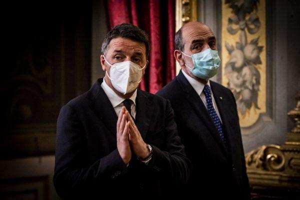 Matteo Renzi, leader of Italian party