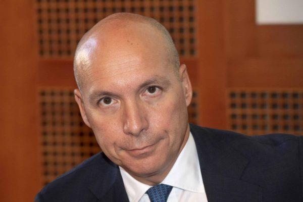 L'amministratore delegato NEXI, Paolo Bertoluzzo, in una recente immagine d'archivio. ANSA/CLAUDIO PERI