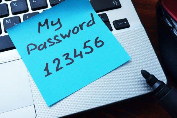 password cybersecurity internet