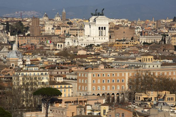 città roma panorama
