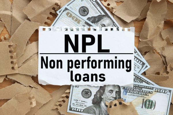 Npl,As,Non,Performing,Loan,,Text,On,White,Paper,On