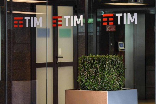 Esterno della sede Telecom di Corso Italia, Roma, 24 luglio 2017. ANSA/ALESSANDRO DI MEO