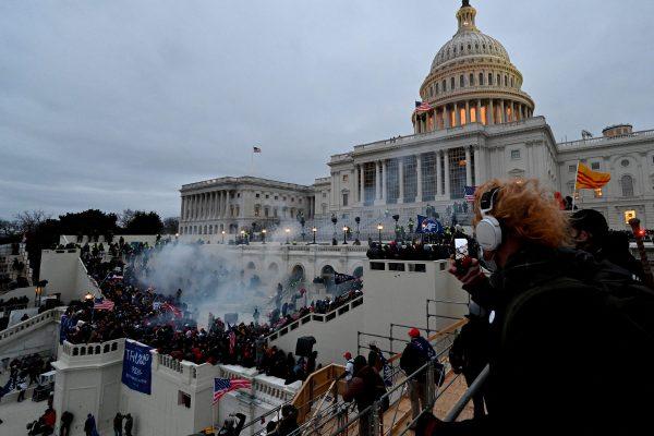 trump congresso usa rivolte proteste