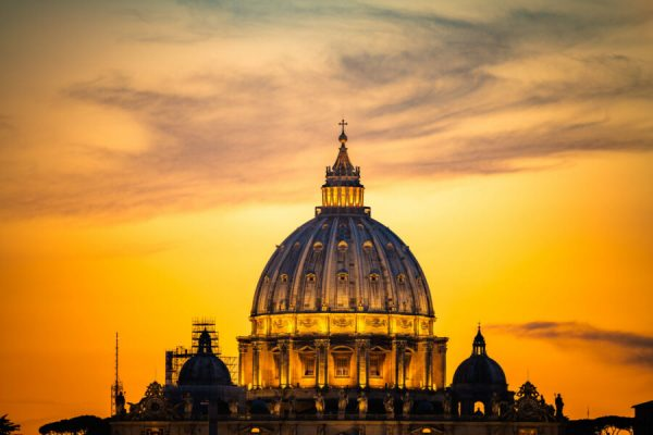 Dome,Of,St,Peter's,Basilica,In,Rome,vatican