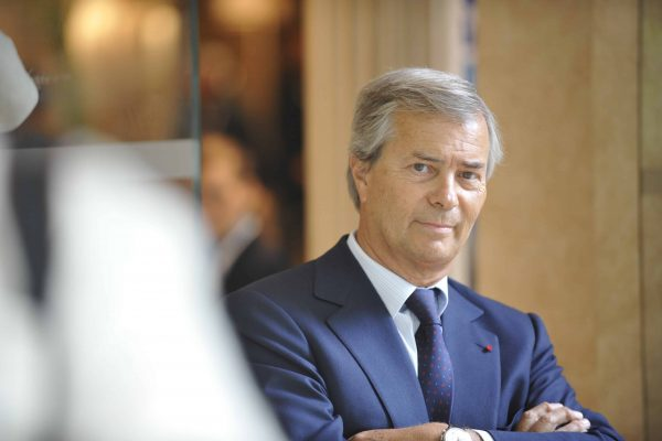 File photo : Vincent Bollore during a celebration marking the 10th anniversary of 'Fondation de la 2e Chance', with Michel Giraud and Ministers Xavier Darcos and Xavier Bertrand, in Paris, France on May 19, 2008. French billionaire Vincent Bollore, who days ago stepped down as chairman of media giant Vivendi, is being questioned by police as part of an investigation into allegations of corrupt business practices in Africa, Le Monde newspaper reported on Tuesday. Photo by Ammar Abd Rabbo/ABACAPRESS.COM